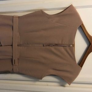 The Limited Dresses - Blush short sleeve scallop bottom dress